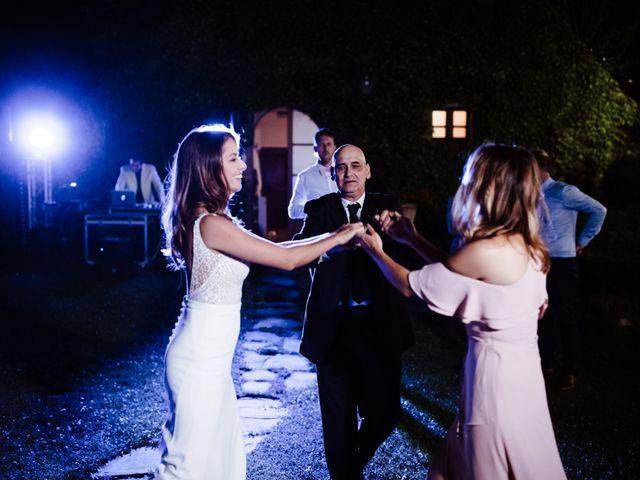 Il matrimonio di Matt e Aisha a Sinalunga, Siena 35