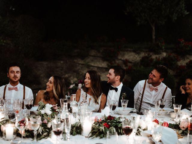 Il matrimonio di Matt e Aisha a Sinalunga, Siena 25