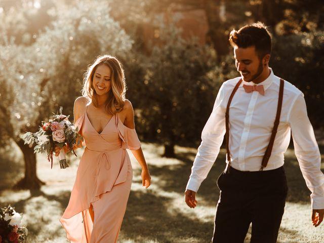 Il matrimonio di Matt e Aisha a Sinalunga, Siena 22