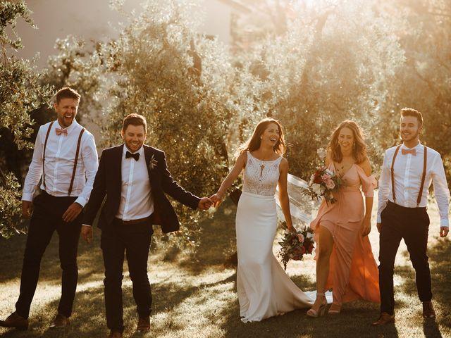 Il matrimonio di Matt e Aisha a Sinalunga, Siena 21