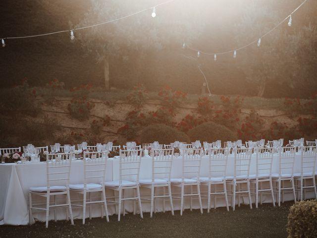 Il matrimonio di Matt e Aisha a Sinalunga, Siena 19