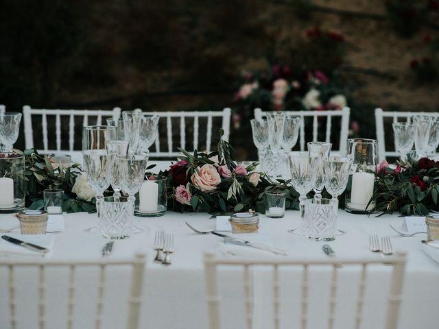 Il matrimonio di Matt e Aisha a Sinalunga, Siena 18