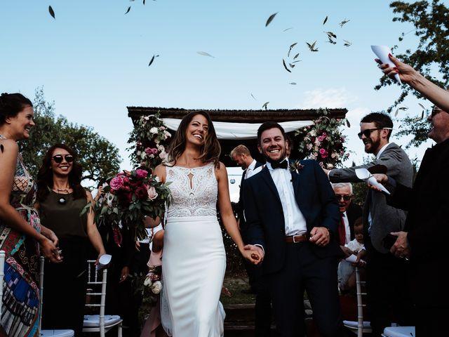 Il matrimonio di Matt e Aisha a Sinalunga, Siena 17