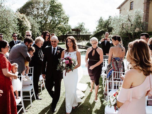 Il matrimonio di Matt e Aisha a Sinalunga, Siena 15