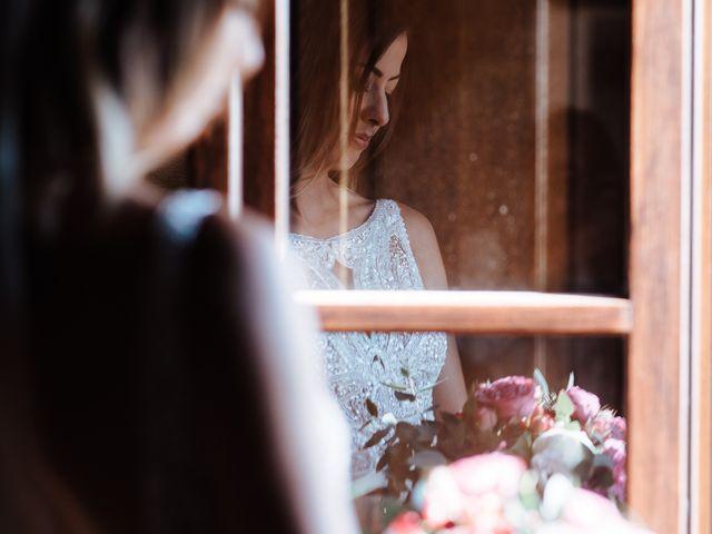 Il matrimonio di Matt e Aisha a Sinalunga, Siena 11