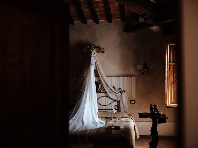 Il matrimonio di Matt e Aisha a Sinalunga, Siena 7