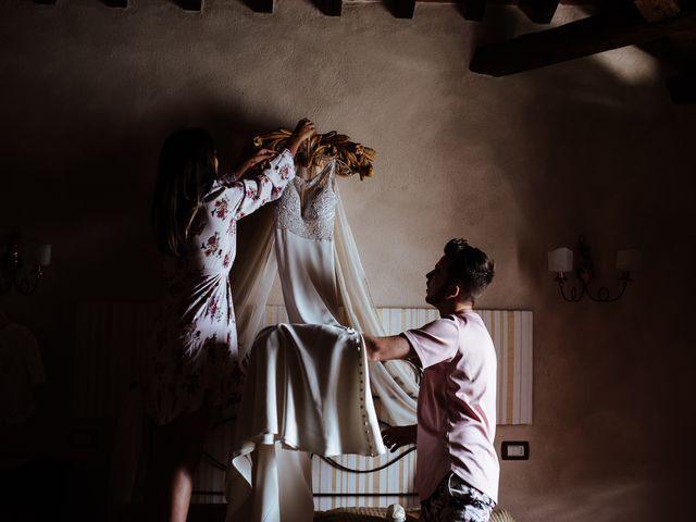 Il matrimonio di Matt e Aisha a Sinalunga, Siena 2