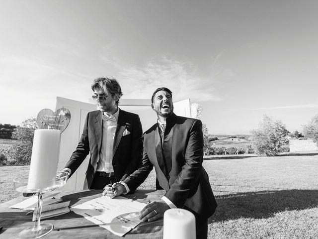 Il matrimonio di Gianni e Giada a Terricciola, Pisa 33