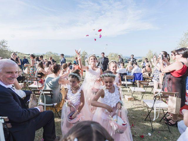 Il matrimonio di Gianni e Giada a Terricciola, Pisa 34