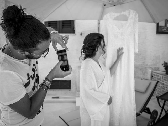 Il matrimonio di Luca e Claire a Noci, Bari 6