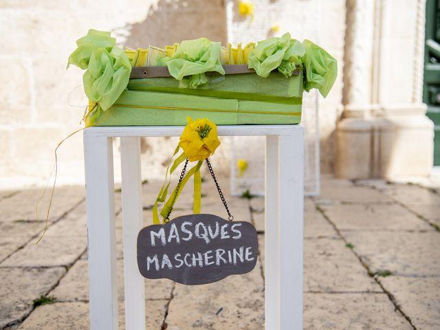 Il matrimonio di Luca e Claire a Noci, Bari 13