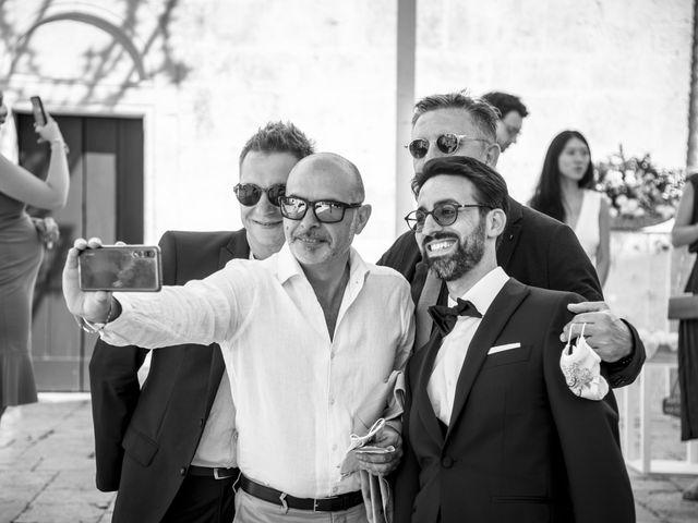 Il matrimonio di Luca e Claire a Noci, Bari 15