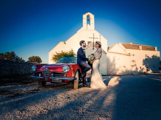 Il matrimonio di Luca e Claire a Noci, Bari 25