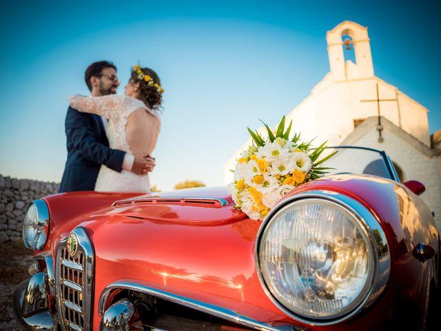 Il matrimonio di Luca e Claire a Noci, Bari 26