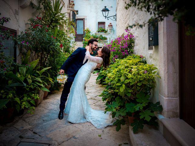 Il matrimonio di Luca e Claire a Noci, Bari 29