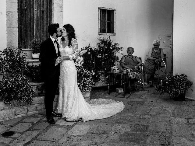 Il matrimonio di Luca e Claire a Noci, Bari 30