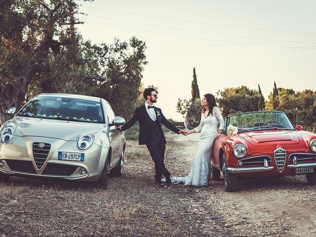 Il matrimonio di Luca e Claire a Noci, Bari 31