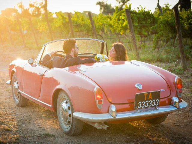 Il matrimonio di Luca e Claire a Noci, Bari 32