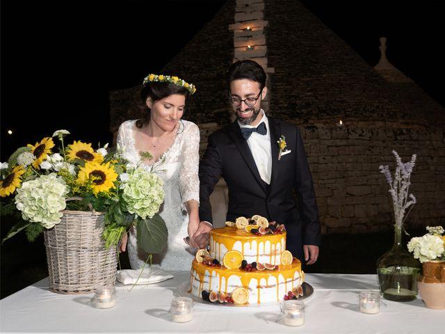 Il matrimonio di Luca e Claire a Noci, Bari 45