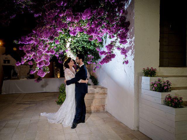 Il matrimonio di Luca e Claire a Noci, Bari 1