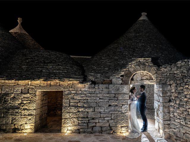 Il matrimonio di Luca e Claire a Noci, Bari 2