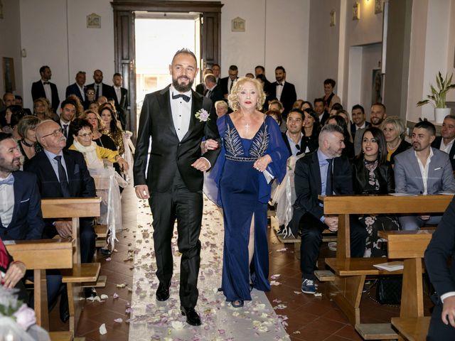 Il matrimonio di Francesco e Lucia a Montespertoli, Firenze 20