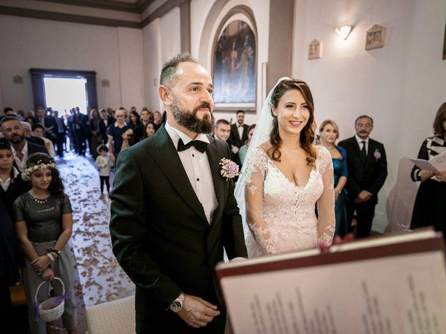 Il matrimonio di Francesco e Lucia a Montespertoli, Firenze 25