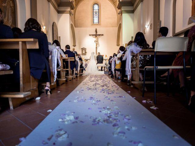 Il matrimonio di Francesco e Lucia a Montespertoli, Firenze 26