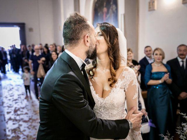 Il matrimonio di Francesco e Lucia a Montespertoli, Firenze 29