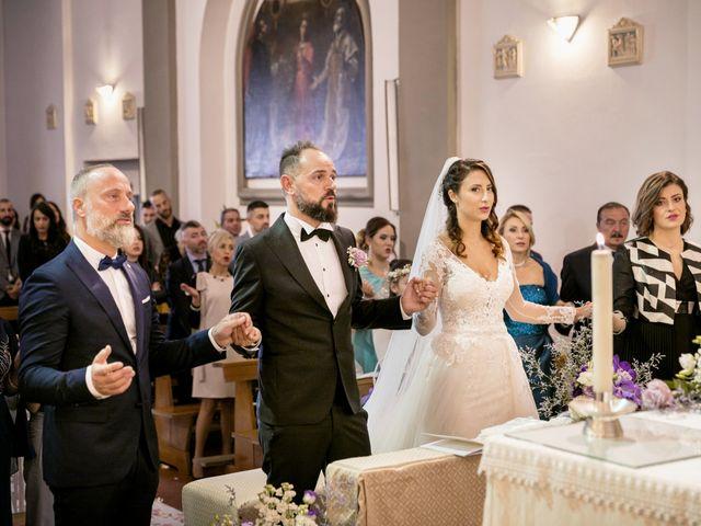 Il matrimonio di Francesco e Lucia a Montespertoli, Firenze 30