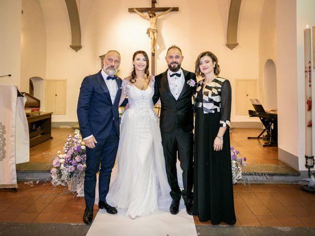 Il matrimonio di Francesco e Lucia a Montespertoli, Firenze 34