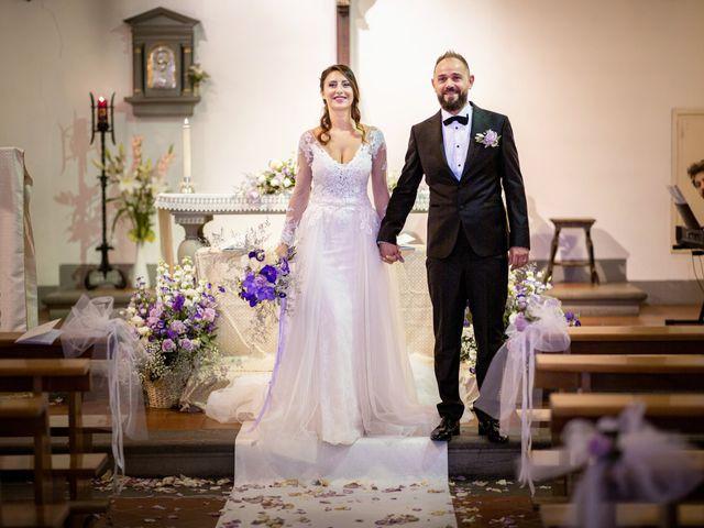 Il matrimonio di Francesco e Lucia a Montespertoli, Firenze 35
