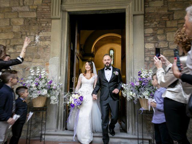 Il matrimonio di Francesco e Lucia a Montespertoli, Firenze 36