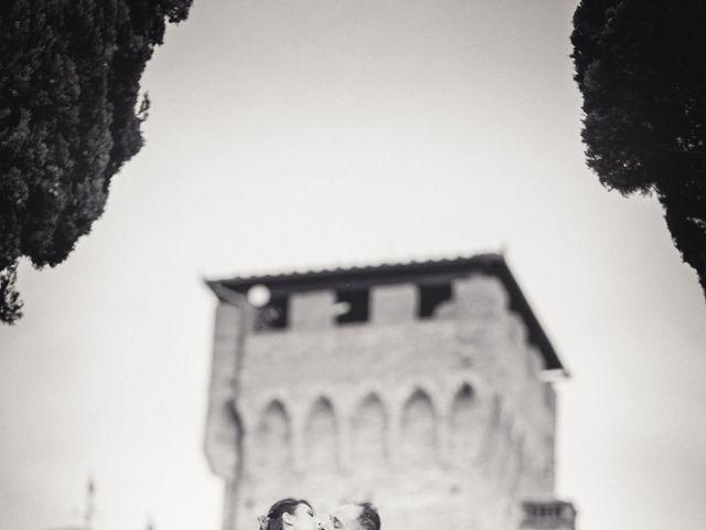 Il matrimonio di Francesco e Lucia a Montespertoli, Firenze 39