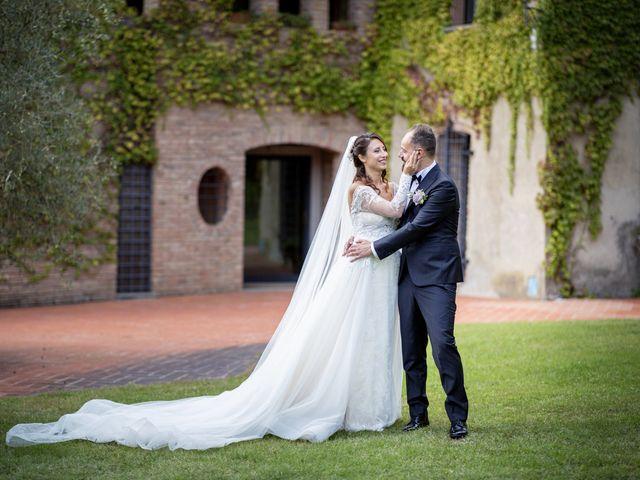 Il matrimonio di Francesco e Lucia a Montespertoli, Firenze 42
