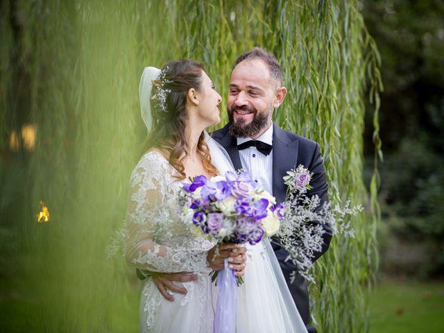 Il matrimonio di Francesco e Lucia a Montespertoli, Firenze 45