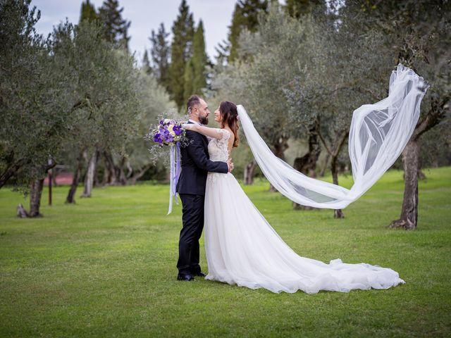 Il matrimonio di Francesco e Lucia a Montespertoli, Firenze 46