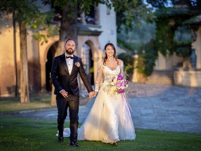 Il matrimonio di Francesco e Lucia a Montespertoli, Firenze 55