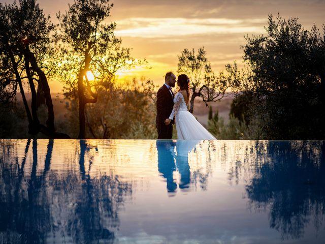 Il matrimonio di Francesco e Lucia a Montespertoli, Firenze 56