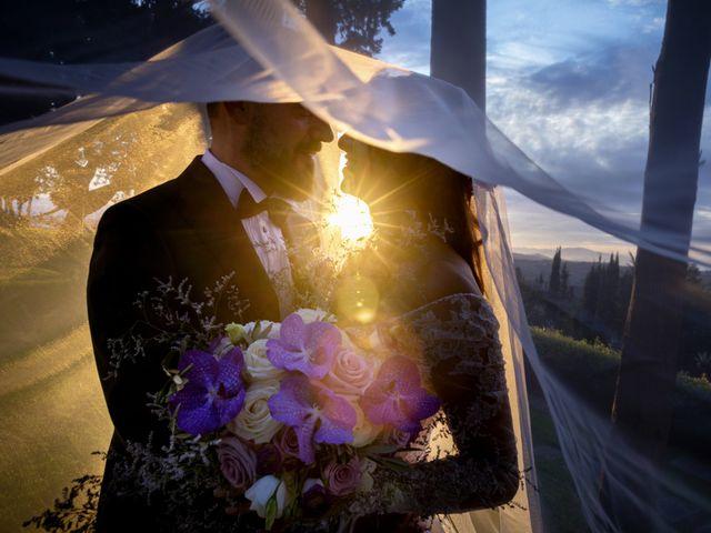 Il matrimonio di Francesco e Lucia a Montespertoli, Firenze 59