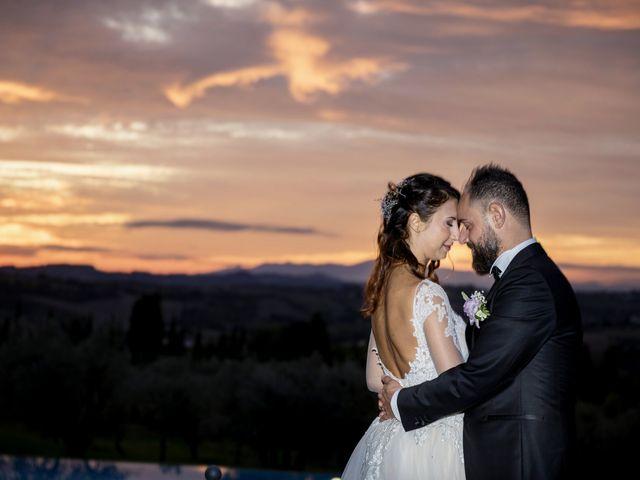 Il matrimonio di Francesco e Lucia a Montespertoli, Firenze 60