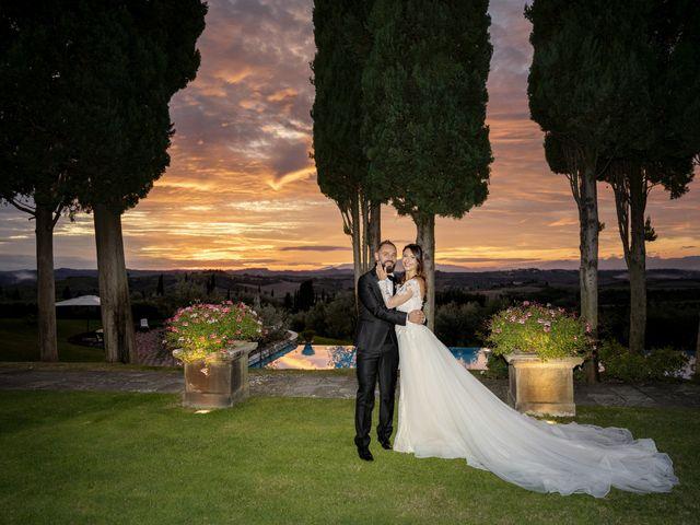Il matrimonio di Francesco e Lucia a Montespertoli, Firenze 61