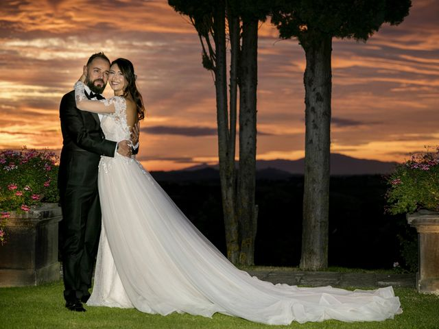 Il matrimonio di Francesco e Lucia a Montespertoli, Firenze 62