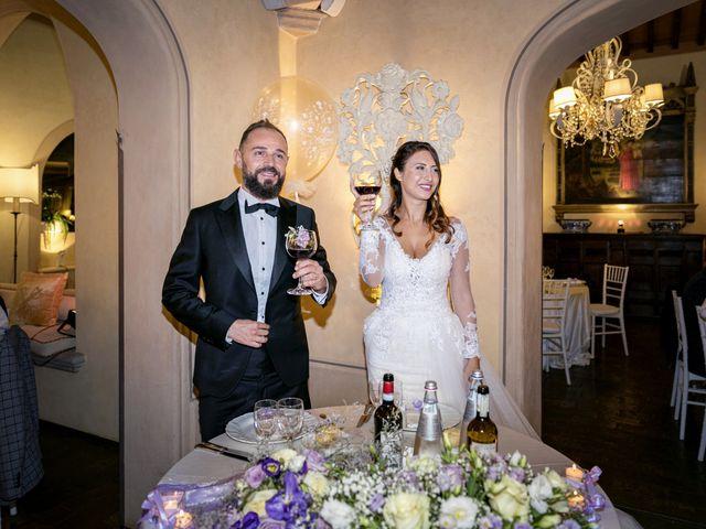 Il matrimonio di Francesco e Lucia a Montespertoli, Firenze 67