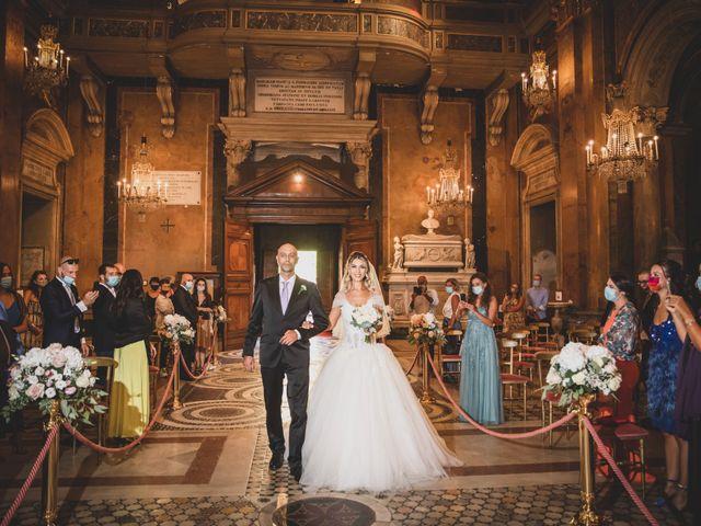 Il matrimonio di Davide e Alessia a Roma, Roma 28