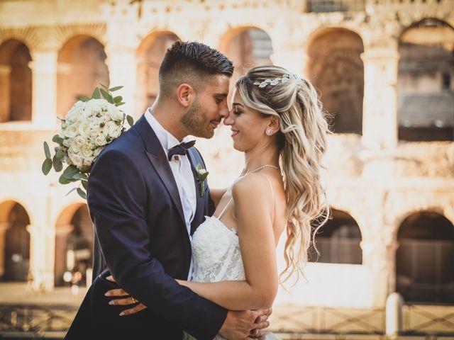 Il matrimonio di Davide e Alessia a Roma, Roma 51