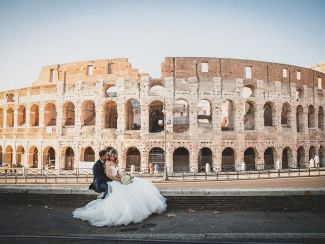 Il matrimonio di Davide e Alessia a Roma, Roma 52