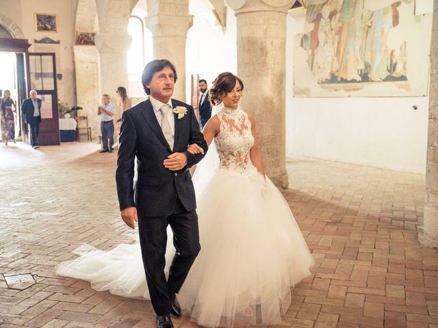 Il matrimonio di Martina e Gabriel a San Severino Marche, Macerata 17