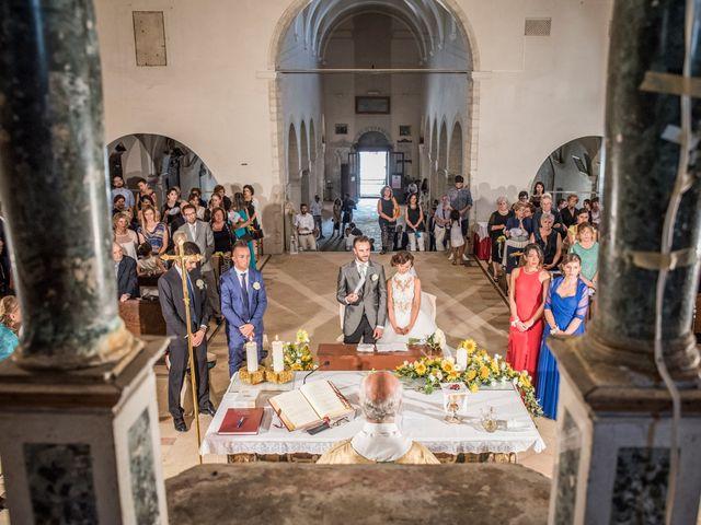 Il matrimonio di Martina e Gabriel a San Severino Marche, Macerata 21