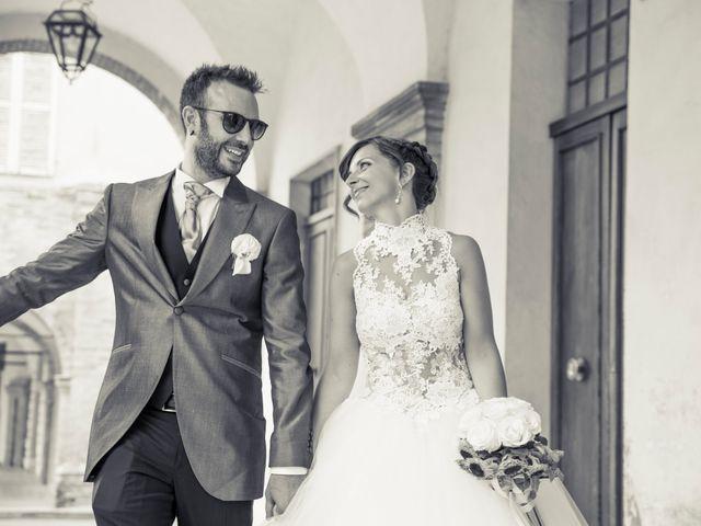 Il matrimonio di Martina e Gabriel a San Severino Marche, Macerata 25